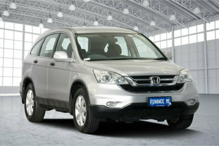 2012 Honda CR-V RE MY2011 4WD Silver 5 Speed Automatic Wagon Victoria Park Victoria Park Area Preview