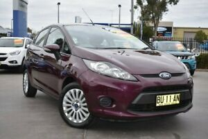 2013 Ford Fiesta WT LX PwrShift Purple 6 Speed Sports Automatic Dual Clutch Hatchback Penrith Penrith Area Preview