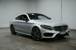 2016 Mercedes-Benz C-Class C205 C43 AMG 9G-Tronic 4MATIC Silver 9 Speed Sports Automatic Coupe Welshpool Canning Area Preview