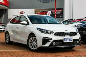 2019 Kia Cerato BD MY19 S Clear White 6 Speed Automatic Hatchback Rockingham Rockingham Area Preview