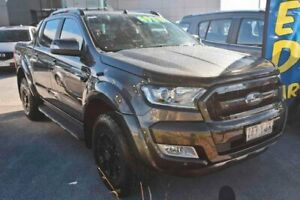 2017 Ford Ranger PX MkII 2018.00MY Wildtrak Double Cab Grey 6 Speed Manual Utility Capalaba Brisbane South East Preview