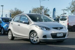 2009 Mazda 2 DE10Y1 Neo Silver 5 Speed Manual Hatchback Hoppers Crossing Wyndham Area Preview