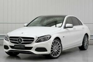 2018 Mercedes-Benz C-Class W205 C350 e White Sports Automatic Parramatta Parramatta Area Preview
