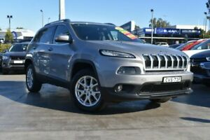 2014 Jeep Cherokee KL Longitude Silver 9 Speed Sports Automatic Wagon Penrith Penrith Area Preview