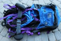 Serratus hiking trails backpack size XL made in Canada 26 inch t