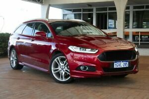 2018 Ford Mondeo MD 2018.25MY Titanium PwrShift Red 6 Speed Sports Automatic Dual Clutch Wagon Melville Melville Area Preview