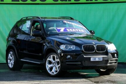 2007 BMW X5 E70 3.0D Executive Black 6 Speed Steptronic Wagon Ringwood East Maroondah Area Preview