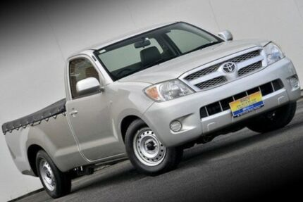 2006 Toyota Hilux GGN15R MY05 SR Silver 5 Speed Manual Utility Ferntree Gully Knox Area Preview