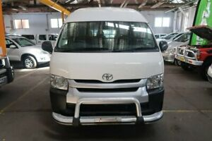 2014 Toyota HiAce TRH223R MY14 Commuter High Roof Super LWB White 4 Speed Automatic Bus Hamilton North Newcastle Area Preview
