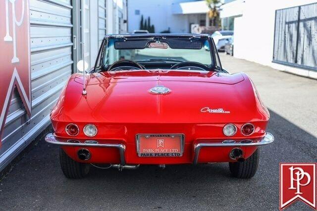 1964 Red Chevrolet Corvette Convertible    C2 Corvette Photo 9