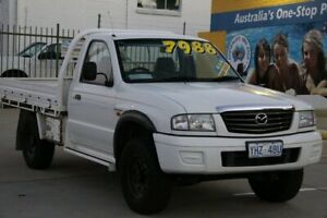 2003 Mazda B2500 Bravo DX (4x4) Alaska White 5 Speed Manual Cab Chassis Fyshwick South Canberra Preview
