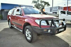 2010 Nissan Navara D40 ST-X Red 6 Speed Manual Utility Liverpool Liverpool Area Preview