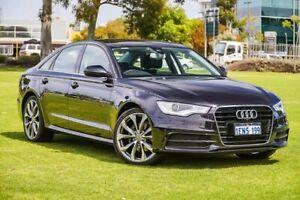 2014 Audi A6 4G MY14 Multitronic Black 1 Speed Constant Variable Sedan Burswood Victoria Park Area Preview
