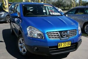 2008 Nissan Dualis J10 Ti X-tronic AWD Blue 6 Speed Constant Variable Hatchback Phillip Woden Valley Preview