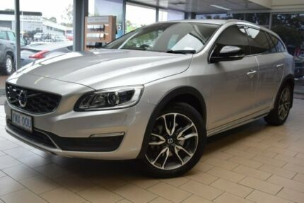 2017 Volvo V60 Cross Country F Series MY17 D4 Geartronic AWD Luxury Silver 6 Speed Sports Automatic Belconnen Belconnen Area Preview