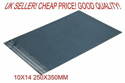 20x 20 Grey poly postal packaging mailing bags 10x14