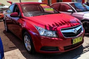 2010 Holden Cruze JG CD Red 6 Speed Sports Automatic Sedan Colyton Penrith Area Preview