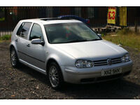 Volkswagen Golf 1.6 (Cheap car with long MOT and nice alloys)