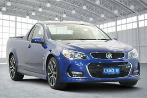 2017 Holden Ute VF II MY17 SS Ute Blue 6 Speed Manual Utility Victoria Park Victoria Park Area Preview