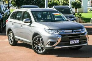 2018 Mitsubishi Outlander ZL MY18.5 ES 2WD Grey 6 Speed Constant Variable Wagon Cannington Canning Area Preview