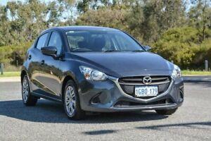 2016 Mazda 2 DJ2HAA Neo SKYACTIV-Drive Grey 6 Speed Sports Automatic Hatchback