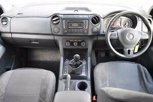 2015 Volkswagen Amarok 2H MY15 TDI400 4Mot Trendline White 6 Speed Manual Utility Berwick Casey Area Preview
