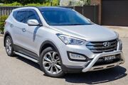 2013 Hyundai Santa Fe DM MY13 Highlander Silver 6 Speed Sports Automatic Wagon Greenacre Bankstown Area Preview