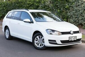 2013 Volkswagen Golf VII MY14 90TSI DSG White 7 Speed Sports Automatic Dual Clutch Wagon Parkside Unley Area Preview