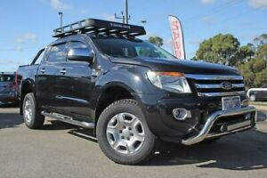 2013 Ford Ranger PX XLT Double Cab Black 6 Speed Sports Automatic Utility Rockingham Rockingham Area Preview