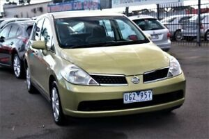 2006 Nissan Tiida C11 ST Yellow 4 Speed Automatic Hatchback Cheltenham Kingston Area Preview