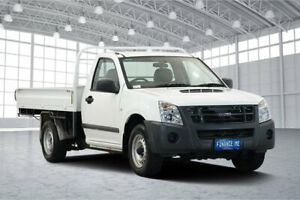 2010 Isuzu D-MAX MY09 SX 4x2 White 5 Speed Manual Cab Chassis Victoria Park Victoria Park Area Preview