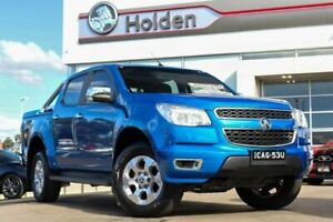 2016 Holden Colorado RG MY16 LTZ Crew Cab Blue 6 Speed Sports Automatic Utility Liverpool Liverpool Area Preview