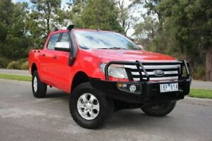 2014 Ford Ranger PX XLS Double Cab 6 Speed Manual Utility Officer Cardinia Area Preview
