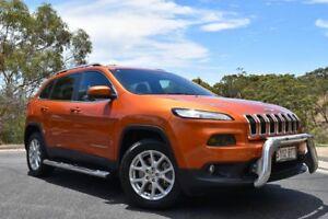 2014 Jeep Cherokee KL Longitude Mango Tango 9 Speed Sports Automatic Wagon St Marys Mitcham Area Preview