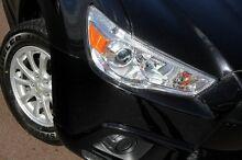 2012 Mitsubishi ASX XA MY12 2WD Black 6 Speed Constant Variable Wagon Northbridge Perth City Preview