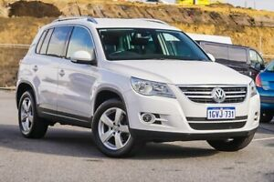 2011 Volkswagen Tiguan 5N MY11 147TSI DSG 4MOTION White 7 Speed Sports Automatic Dual Clutch Wagon