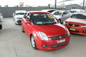 2009 Suzuki Swift EZ 07 Update S Red 4 Speed Automatic Hatchback Mitchell Gungahlin Area Preview