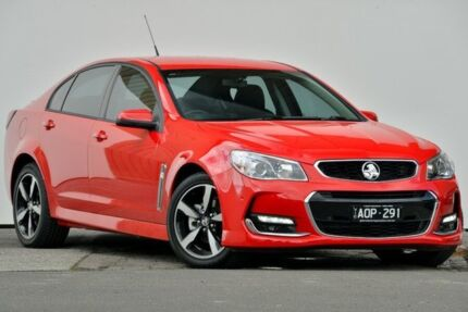2017 Holden Commodore VF MY17 SV6 Red Hot Automatic Sedan