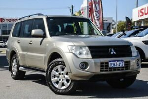 2013 Mitsubishi Pajero NW MY13 GLX-R Gold 5 Speed Sports Automatic Wagon
