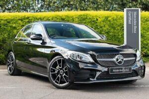 2019 Mercedes-Benz C-Class W205 809MY C200 9G-Tronic Black 9 Speed Sports Automatic Sedan