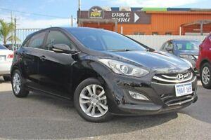 2013 Hyundai i30 GD Elite Black 6 Speed Sports Automatic Hatchback Rockingham Rockingham Area Preview