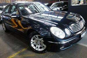 2005 Mercedes-Benz E350 W211 Elegance Black 7 Speed Automatic Sedan Port Melbourne Port Phillip Preview