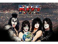 KISS TICKETS - Birmingham 28th May 7.30pm