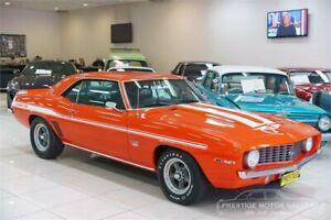 1969 Chevrolet Camaro Orange Automatic Coupe Carss Park Kogarah Area Preview