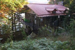 Maison au bord du lac O'Malley
