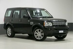 2013 Land Rover Discovery 4 MY13 3.0 TDV6 Black 8 Speed Automatic Wagon