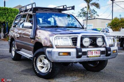 2000 Toyota Landcruiser HZJ105R GXL Brown 5 Speed Manual Wagon Archerfield Brisbane South West Preview