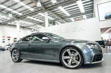 2010 Audi RS5 8T 4.2 FSI Quattro Daytona Grey 7 Speed Automatic Coupe Port Melbourne Port Phillip Preview