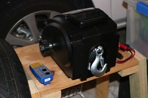 Electric Winch ( 12V 2000lbs ) with remote - as new The Gap Brisbane North West Preview