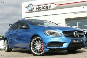 2013 Mercedes-Benz A45 W176 AMG SPEEDSHIFT DCT 4MATIC Blue 7 Speed Sports Automatic Dual Clutch Liverpool Liverpool Area Preview